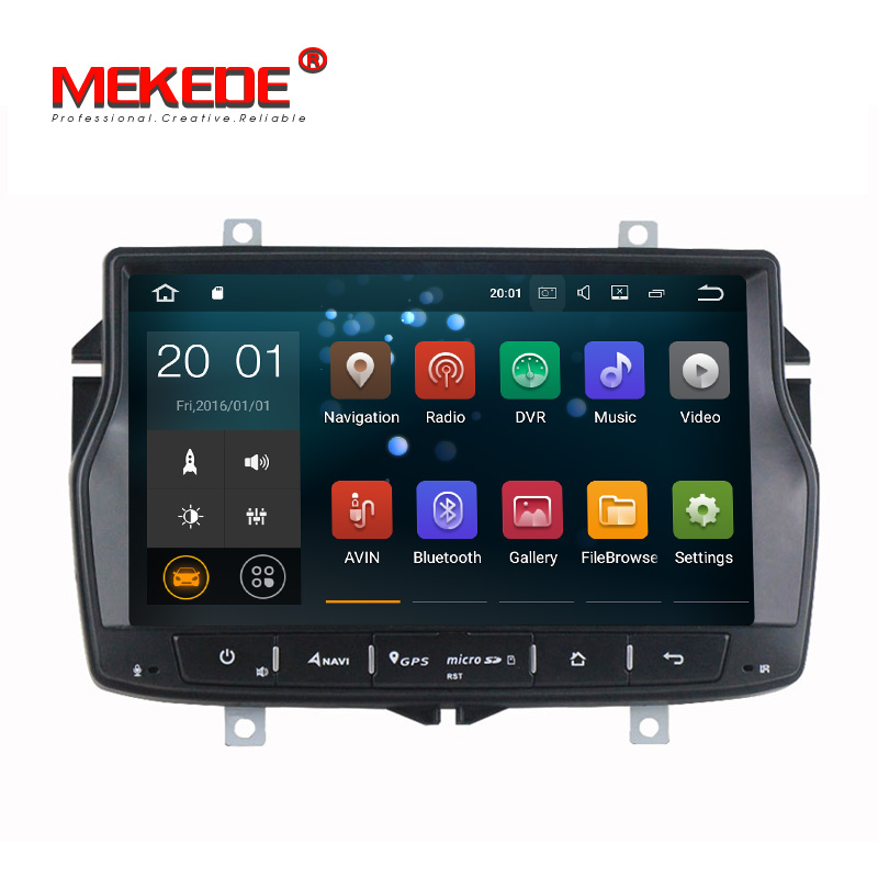 Special Lada for Russia! Pure Android7.1 Car Multimedia Autoradio Car stereo head unit navigation GPS DVD player for Lada Vesta