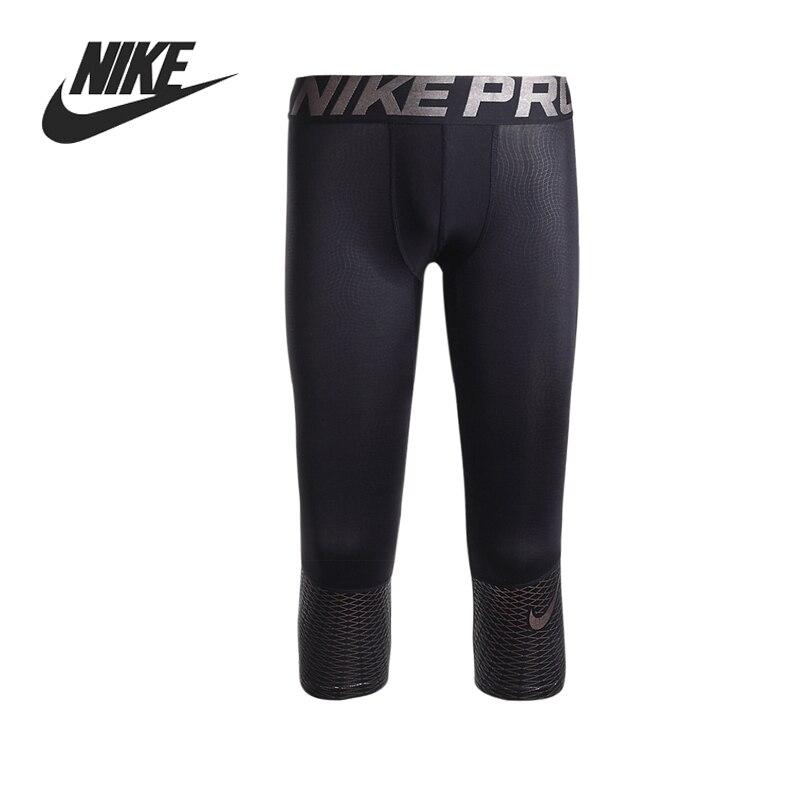 Original New Arrival  NIKE  HYPERCOOL MAX 3/4 TGT  Men's Tight Shorts Sportswear