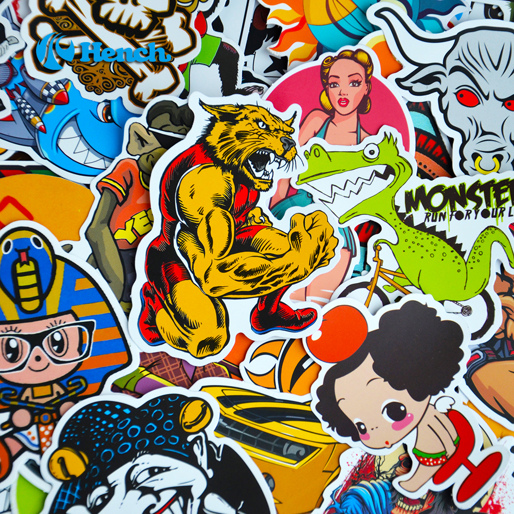 Car Styling Doodle Sticker Bomb Graffiti Skateboard Stickers Snowboard Motorcycle Bicycle luggage Bags font b Accessories
