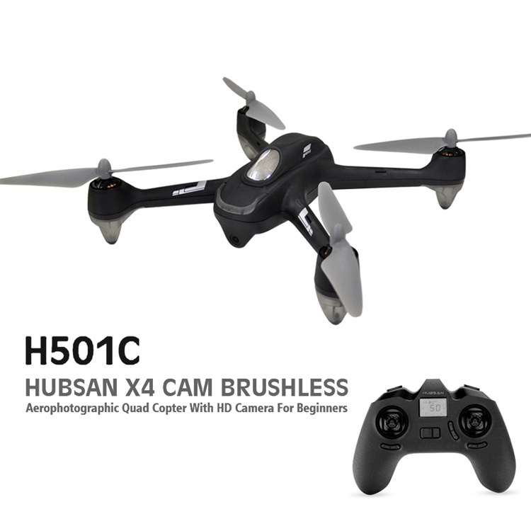 HUBSAN H501C X4 1080P Camera Brushless Quadcopter GPS Automatic Return RC Drone for Beginners F18978