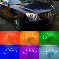 For Kia Optima Magentis 2007 2008 Excellent Angel Eyes Kit Multi Color Ultrabright RGB LED Angel