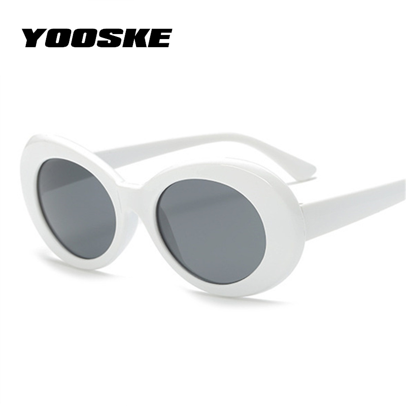 1dbe570d95ea2 YOOSKE Kurt Cobain Sunglasses With Poster Clout Goggles Glasses Men Women  Nirvana Kurt Cobain Poster Sticker Kraft Paper-in Sunglasses from Apparel  ...