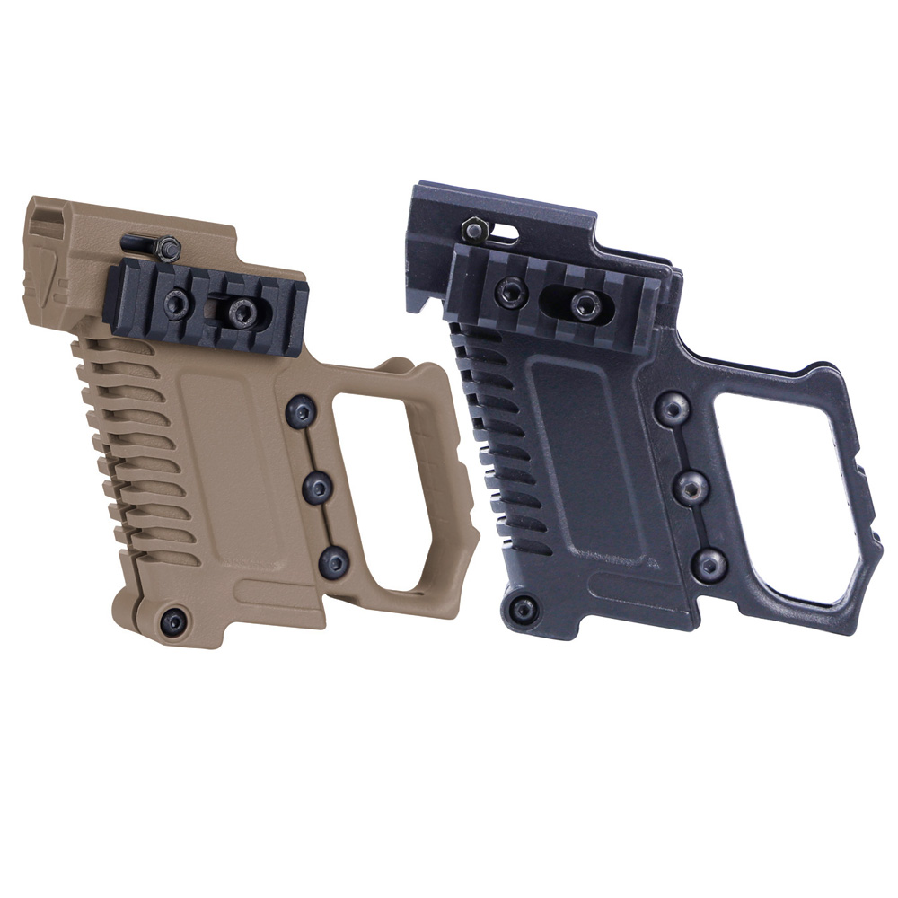 Tactical Pistol Carbine Kit Mount Quick Reload For Glock G17 G18 G19 Gun Accessories Hunting