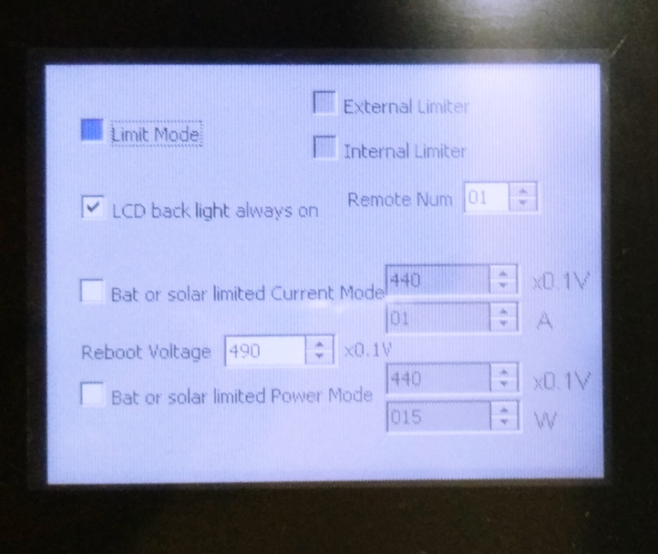 2000W Battery Discharge Power Mode/MPPT Solar Grid Tie Inverter with Limiter Sensor DC 45-90V AC 220V 230V 240V PV connected