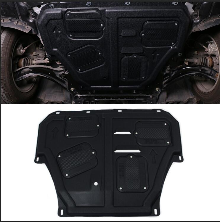 car styling case For Nissan Tiida 2016 Car Engine Protection Bonnet Board Plate Cover Engine Board Cover accessories
