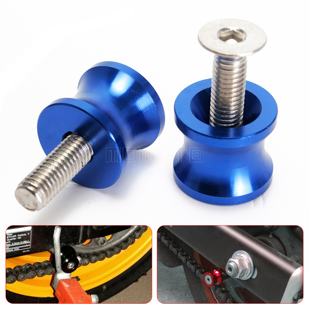 accessories part For BMW S1000RR HP4 S1000R S1000XR S 1000 RR Motorcycle CNC Aluminum Swingarm Spools Slider Stand Screws M8 2pcs universal motorcycle stand screws cnc swingarm swing sliders spools m6 m8 m10 for yamaha r3 honda crf 450 suzuki gn250