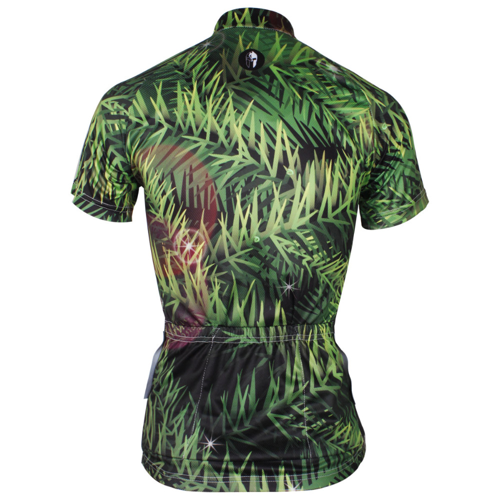 Women Green Camo Short Sleeve Cycling Clothing Summer Quick Dry Bike Jerseys  Ropa Ciclismo Mujer Size XS To 6XL-in Cycling Jerseys from Sports ... 7662f84bb