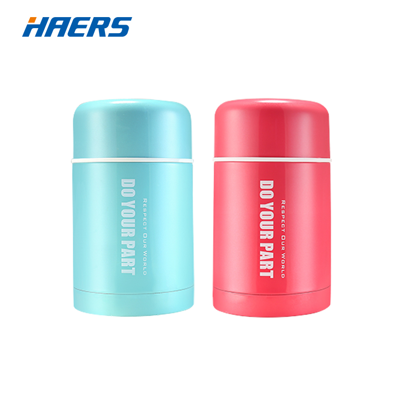 HAERS 750ML Thermos For Food Stainless Steel Vacuum Insulated Thermos Bottle