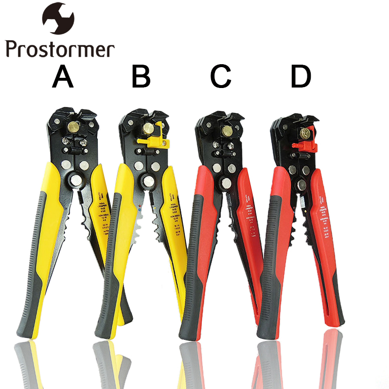 PROSTORMER 3 in 1 Wire Stripper Self Adjustable Automatic Cable Wire Stripper Crimping Plier Crimper Terminal Cutter Hand Tool hot sale short plush chew squeaky pet dog toy