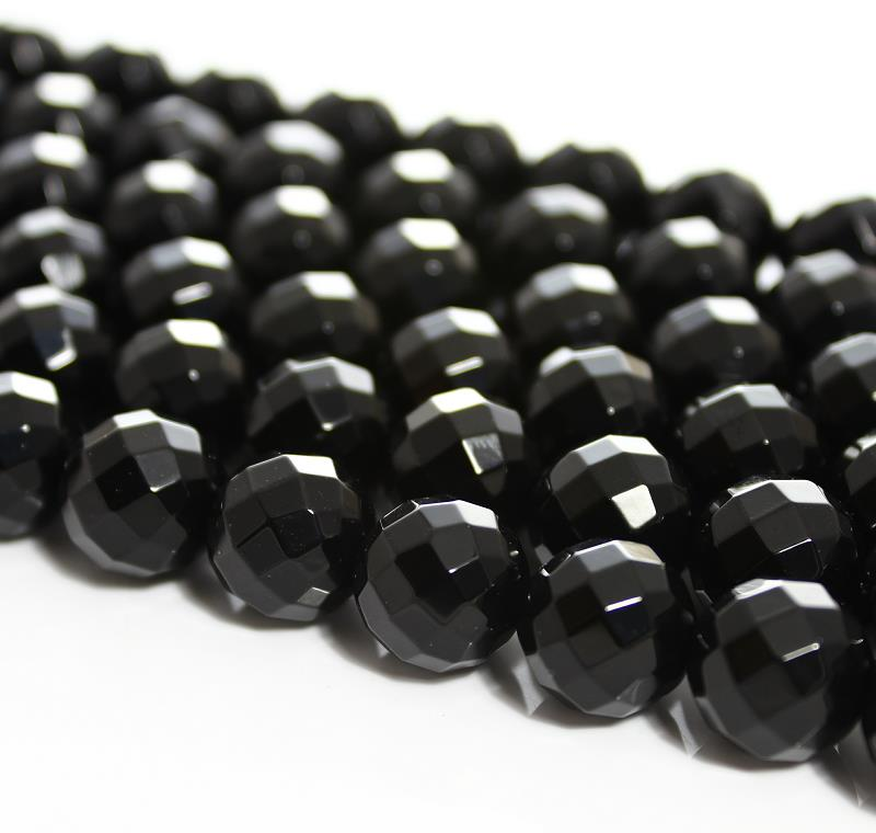 "6-8-10-12mm Stripe Agate Onyx Gem Round Loose Bead 15""AAA"