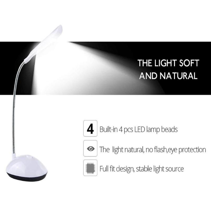 LED Desk Lamp 360 Degree Rotating Eye Protection Reading Book Lights EYG