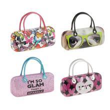 Портативная милая сумочка, Жесткий Чехол для хранения очков, детские очки для девочек, солнцезащитные очки, коробка для очков