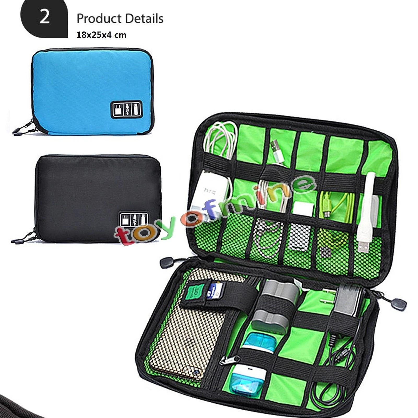 Wasserdichte Reisedaten Kabel Aufbewahrungstaschen Daily Gadget Charger Packs
