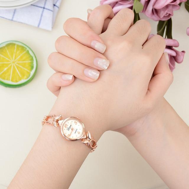 Luxury fashion ladies mesh watches Women's Casual Quartz Bracelet Watch Analog W