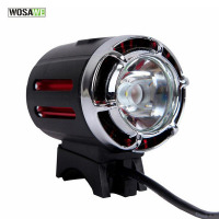 WOSAWE Bicycle Light Bike Accessories Led Usb Charger Headlight Waterproof Bike Light Front Handlebar Headlamp Black