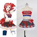 Love Live! Original Cheerleader Maki Nishikino Cheerleaders Dress Costume Halloween Anime Girl Cosplay Costumes Uniform Outfit
