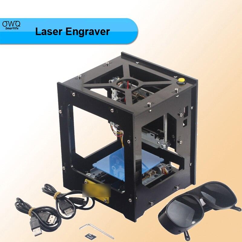 1pcs DK-8-KZ Topspeed Micro High Speed Resolution USB DIY Laser Engraver Engraving Machine Stamp Maker 300mW dk 8 kz 1000mw diy usb laser engraving machine