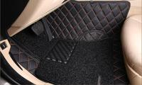 Luxurious Car Floor Mats Custom Fit For Mercedes Benz ML350 CDI 2010 2014 Car Styling Auto