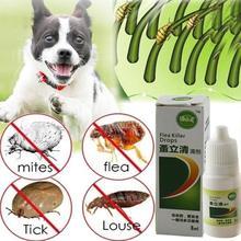 8 мл средство для защиты от блох и капель от насекомых для собак и кошек, средство для удаления насекомых, средство для удаления насекомых, спрей для лечения собак, кошек и щенков