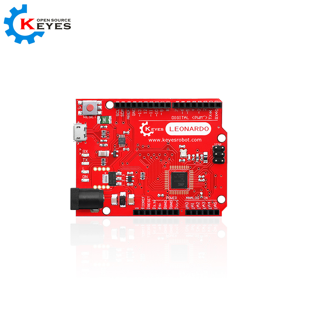 keyes leonardo R3 development board +1M Micro USB Cable compatible for arduino beetle usb atmega32u4 mini development board module for arduino leonardo r3
