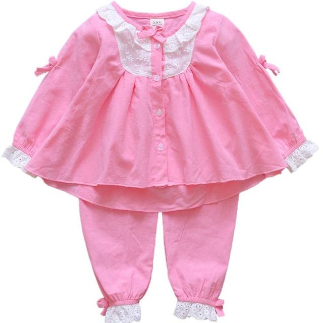 f4e7f62473a6 Online Shop DZIECKO Children Girls Clothes Sleepwear Set 2017 ...