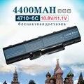 4400 mah 6 celdas de batería del ordenador portátil as07a31 para acer aspire 2930g 4710g 4720g 4720zg 4930g 4310 5738g as07a41 as07a73 as07a71