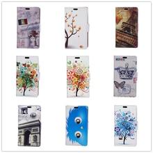 20 Cartoon Pattern Wallet Flip Leather Case Cover For Huawei Y3 II Y5 II Printing Pattern