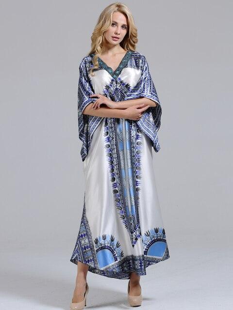 ユニークなdashikiageダイヤモンド襟見事なエレガントなアフリカdashiki女性ドレス