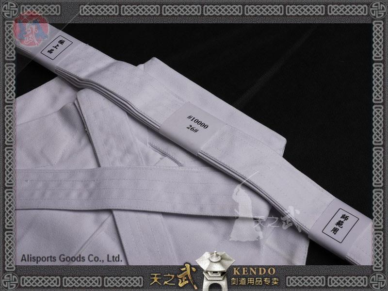 Top Qualität 10000 # 100% Baumwolle Weiß Kendo Iaido Aikido Hakama - Fitness und Bodybuilding - Foto 3