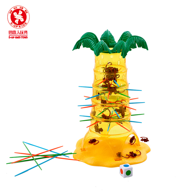 Childrens Table Games Tumbler Monkey Parenting Interactive Intelligence Brain Preschool Toys Party Board Game