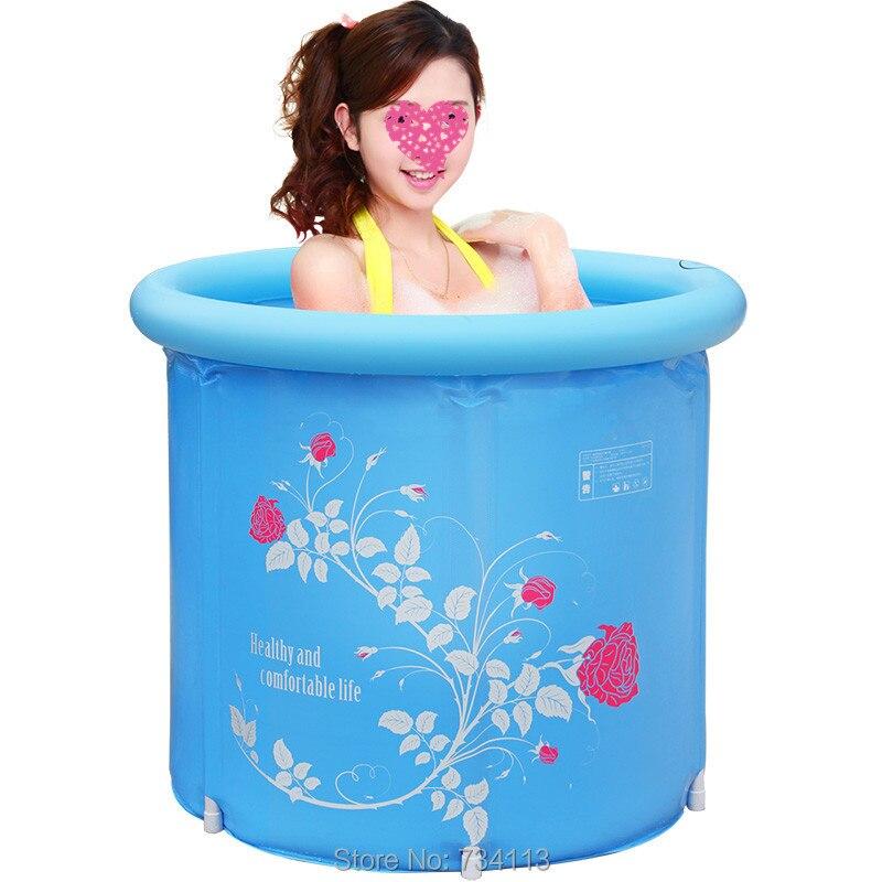 Opblaasbare tub SPA warme badkuip vouwen vat plastic opblaasbare - Huishouden