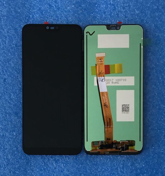 Original For 5 84 Huawei Honor 10 Axisinternational LCD Display Screen Touch Panel Digitizer Fingerprint For