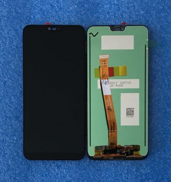 D'origine Pour 5.84 huawei honor 10 Axisinternational LCD écran Affichage + Tactile Digitizer + d'empreintes digitales pour huawei honor 10 + outils