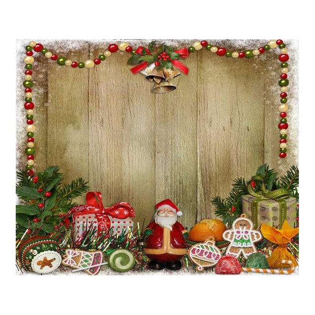 Customized Vinyl Print Christmas Party Wall Poster