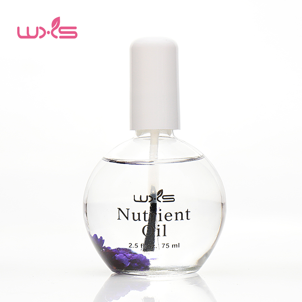 цена 75ml Cuticle Oil Nail Treatment Dry Flower Nourishment Oil Repair and Nutritional Nail Cuticle Plant Grease Nutriment Nail Oil