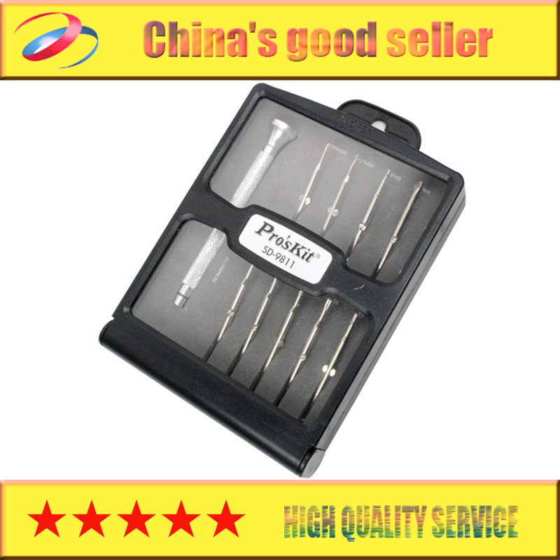 цены  Free Shipping Brand ProsKit SD-9811 18-In-1 Precision Screwdriver Set, slotted and phillips, For Watch repair
