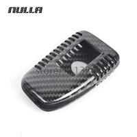 NULLA Genuine Carbon Fiber Car Auto Remote Key Fob Holder Case Cover For Lexus 15 16 RX IS ES GS NX LX Car Styling Car Sticker