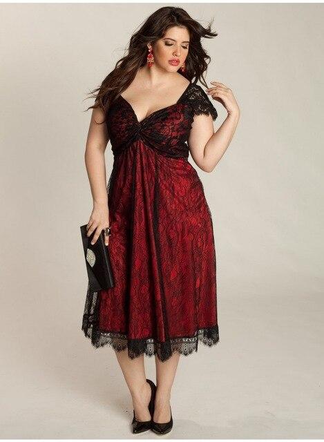 M- 4XL 5XL Large Size Summer Dress Women Sleeveless V-neck A-line Lace Long Dresses Plus Size Clothing XXXL XXXXL XXXXXL