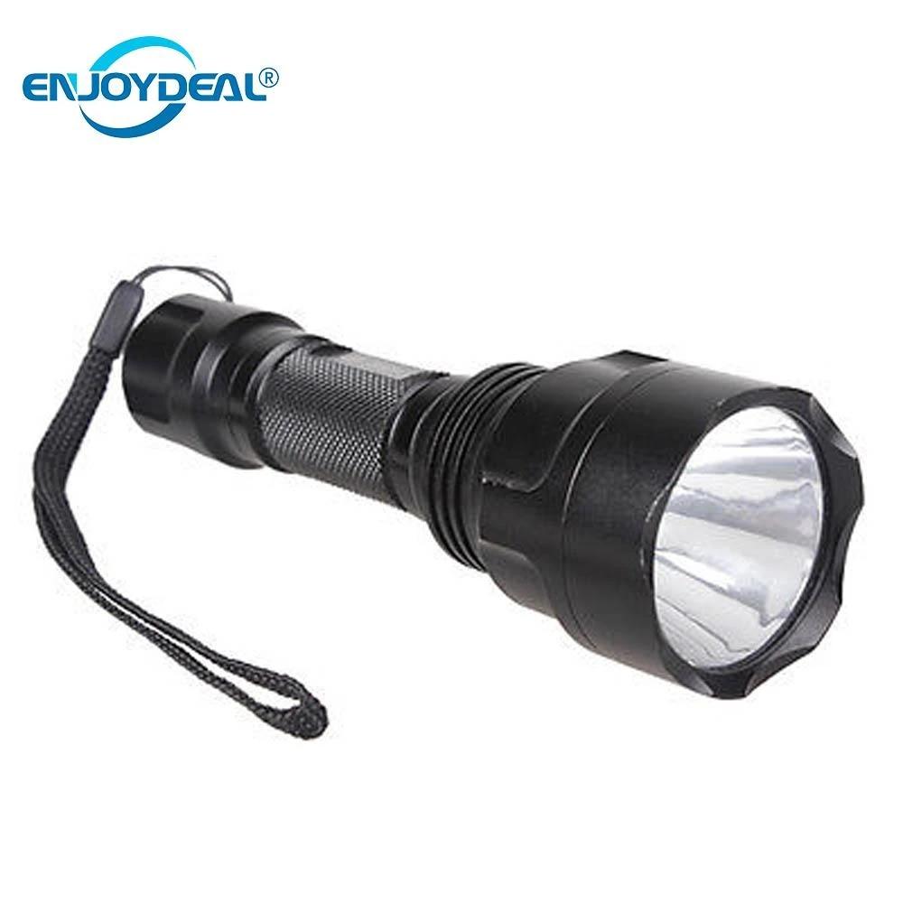 Vander Q5 LED Flashlight  3 Modi 2X 6000mAh 18650 Battery 18650  Charge