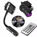 2016 Hot Bluetooth Coche Reproductor de MP3 Kit de Coche Bluetooth Inalámbrico Manos Libres Transmisor FM Reproductor de MP3 USB SD LCD con Control Remoto # ED