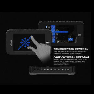 Image 4 - FOTGA A50TLS 5 pouces FHD vidéo sur caméra moniteur de terrain IPS écran tactile SDI 4K HDMI entrée/sortie 3D LUT pour A7S II GH5