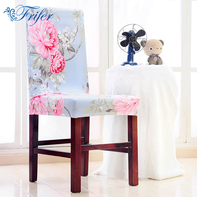 Universal Chair Cover Stretch Polyester Spandex Dining Decoratieve - Thuis textiel