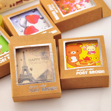 40pcs/set 7*5.8cm Creative Cute Cartoon Import White Card Mini Postcard Message Card Blessing Greeting Card For Bookmarks sinbo svc 3495 синий