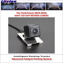 Liislee Intelligent Parking Tracks Rear Camera For Ford Focus 2015 2016 Backup Reverse / NTSC RCA AUX HD SONY CCD 580 TV Lines все цены