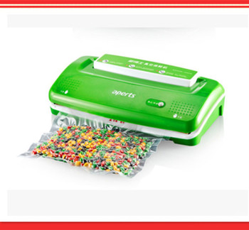 Small fully-automatic vacuum packaging machine sealing household sealing machine vacuum food machine