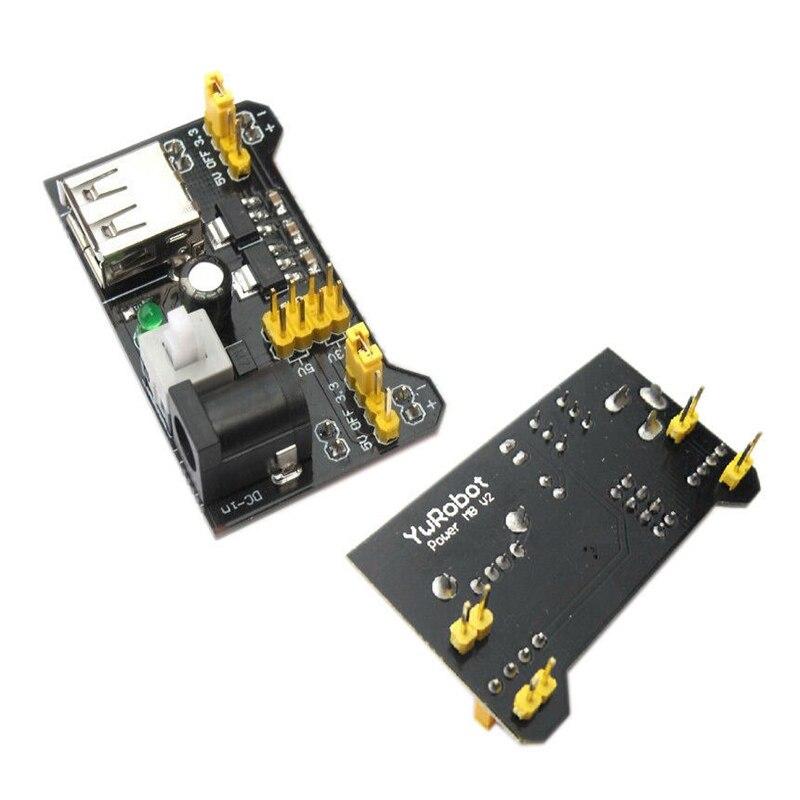 1Pcs New 3.3V 5V MB102 Breadboard Power Supply Module For Arduino Solderless...