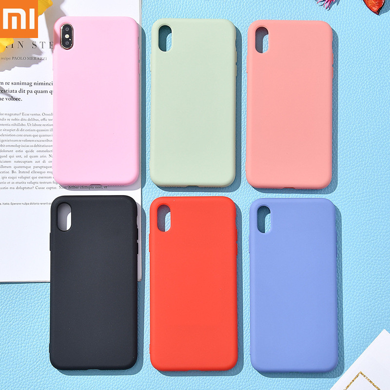 Xiaomi 8 9 6X 5X A1 All-inclusive liquid silicone mobile phone case for mi 8/9 se lite, Redmi note 5 6 7 pro/plus 2019 New case!