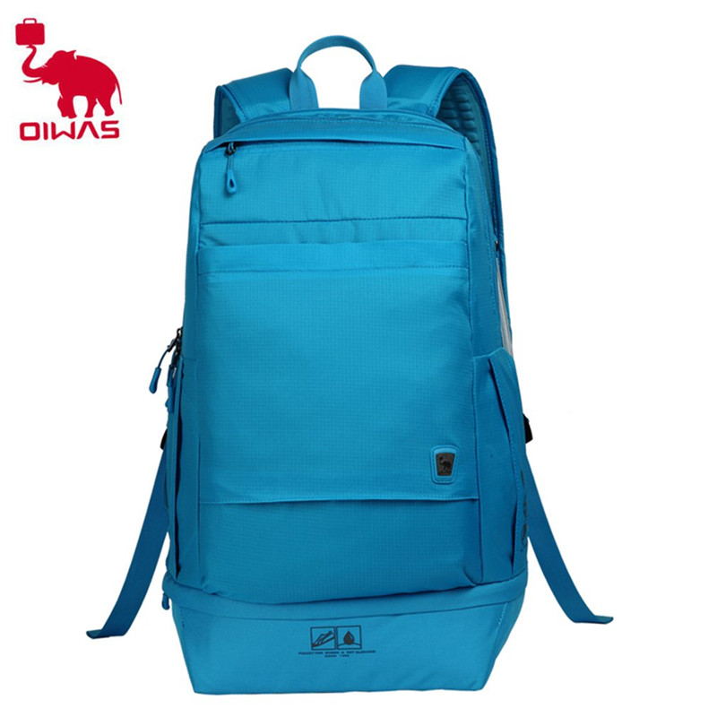 Oiwas Multifunctional Large Capacity Design Men Male Shoulder Bag Casual Laptop Notebook Bags School Backpack Blue oiwas fashionable design men women