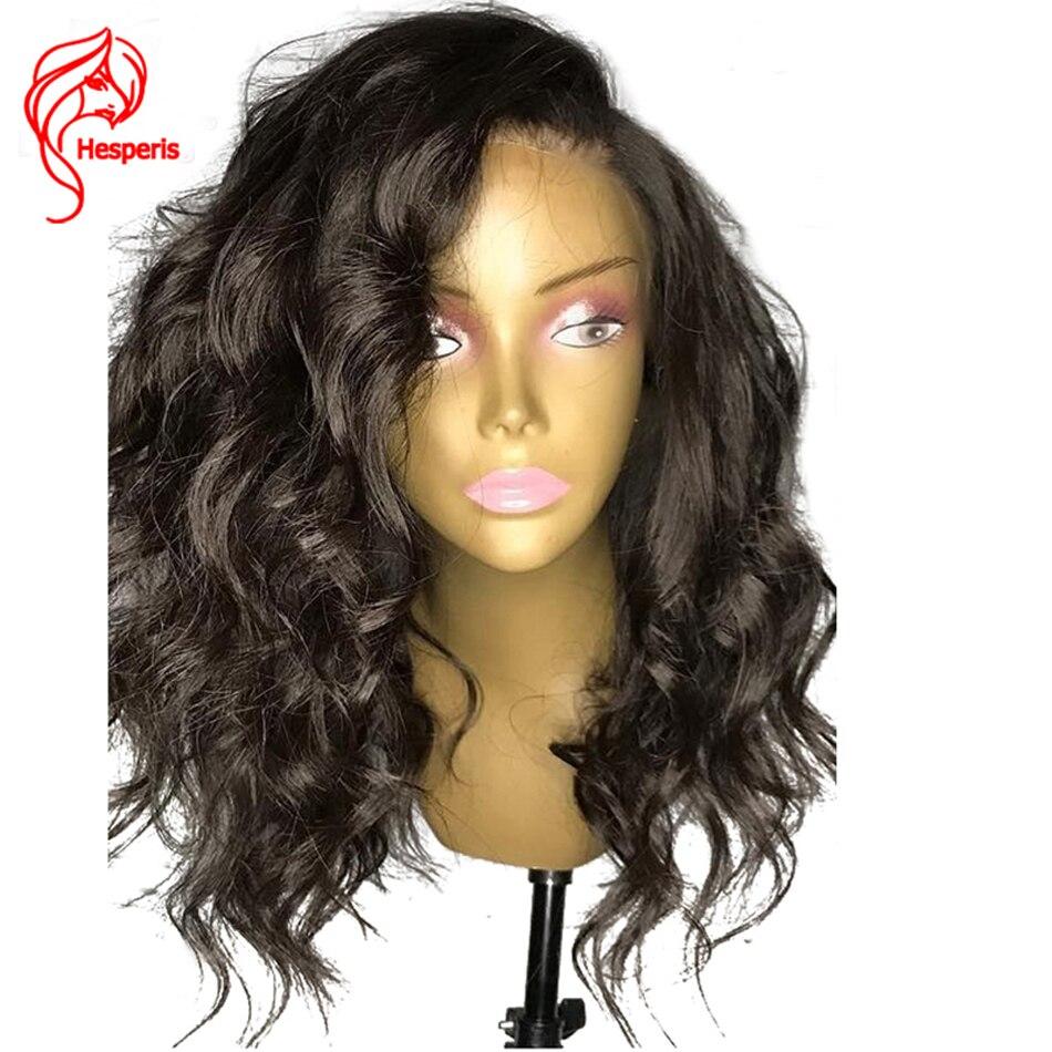 Hesperis 150% Densité Vague Profonde Avant de Lacet Perruques de Cheveux Humains avec Bébé Cheveux Ondulés Péruvienne Cheveux Pré Plumées 13*6 Naturel délié
