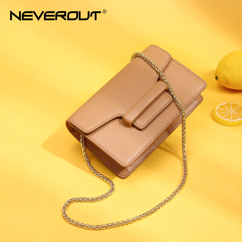 NEVEROUT Fashion Mini Women Bag Split Leather Flap Bags Black/Brown/White Messenger Crossbody Bags Solid Shoulder Sac Flap bag neverout new crossbody handbag women messenger bag cover small flap bags fashion shoulder bags simply style genuine leather bag